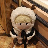 PCMOS KPOP BTS Idol Bangtan Boys SUGA Min Yun Ki 22cm 8in Stuffed Doll Character