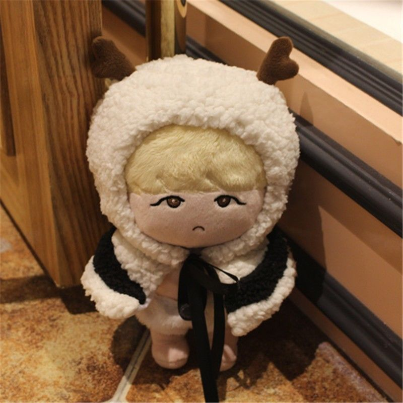 [PCMOS] KPOP BTS Idol Bangtan Boys SUGA Min Yun Ki 22cm/8in Stuffed Doll Character Plush Toys Fan-made Craft Collection 16110510