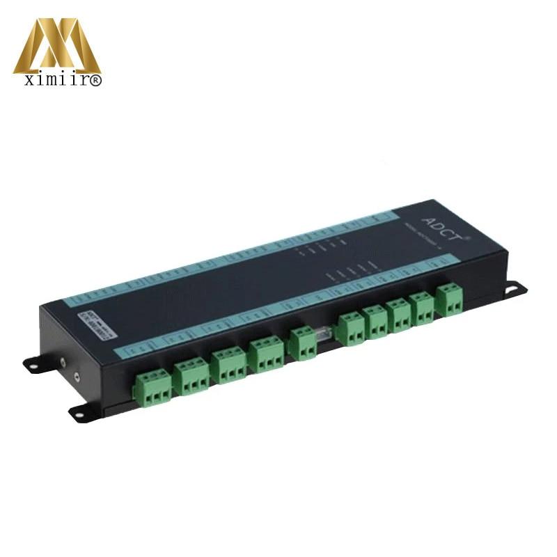 EntrüCkung Vier Türen Access Control Board Tcp/ip Und Wan/lan Multi Funktion Fingerprint Und Karte Access Control Panel Adct3000-4