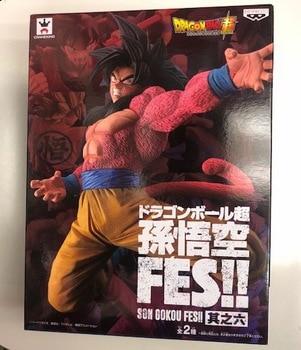 """Original Son Gokou FES Collectible Figure – Super Saiyan 4 Son Goku from """"Dragon Ball Super"""""""