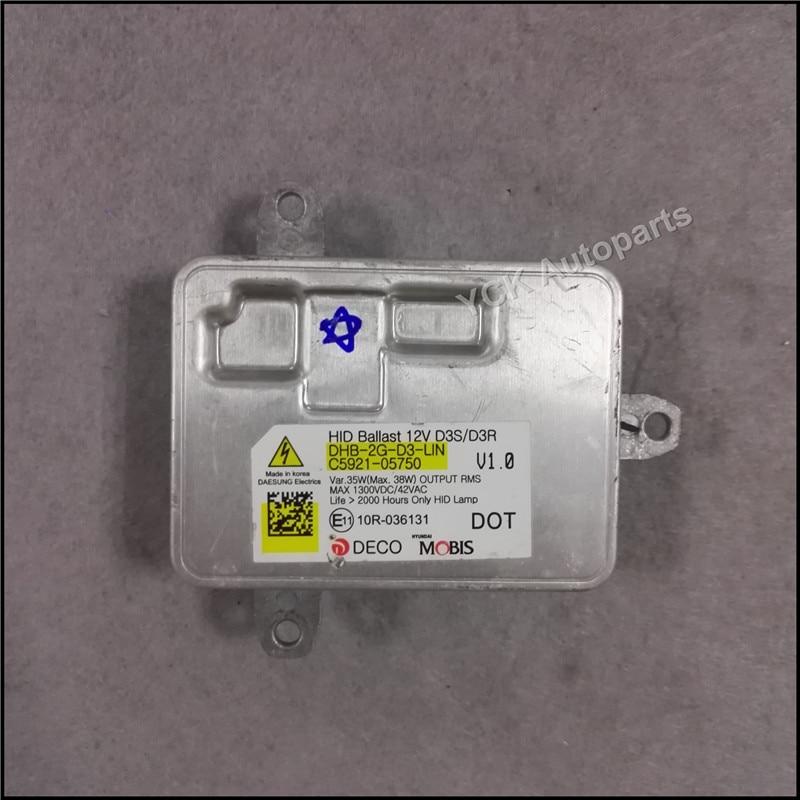 """Didmeninė prekyba """"YCK Original 1PC HID Xenon D3S D3R Balast - Automobilių žibintai - Nuotrauka 2"""