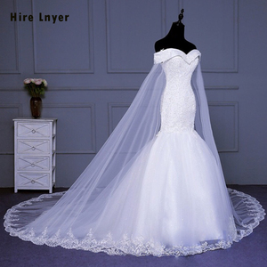 Image 2 - Hire Lnyer New Design Slim Elegant China Bridal Gowns Mariage Appliques Beading Sequins Mermaid Wedding Dress Aliexpress Login