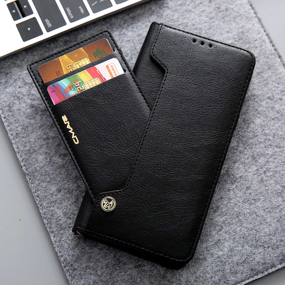 efbd45c89a3 Leathe Flip Case For Samsung Galaxy S7 S7 Edge S8 S9 S10 Plus Silicone Wallet  Cover