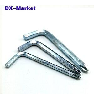 4 мм 5 мм 6 мм Отвертка Phillips шестигранный ключ, многофункциональный шестигранный ключ поперечный конец. Высокое качество phillips гаечный ключ ин...