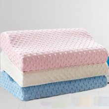 Ортопедическая подушка из пены с эффектом памяти, латексная подушка для шеи, мягкая подушка из волокна с медленным отскоком, массажер для здоровья, для путешествий и сна