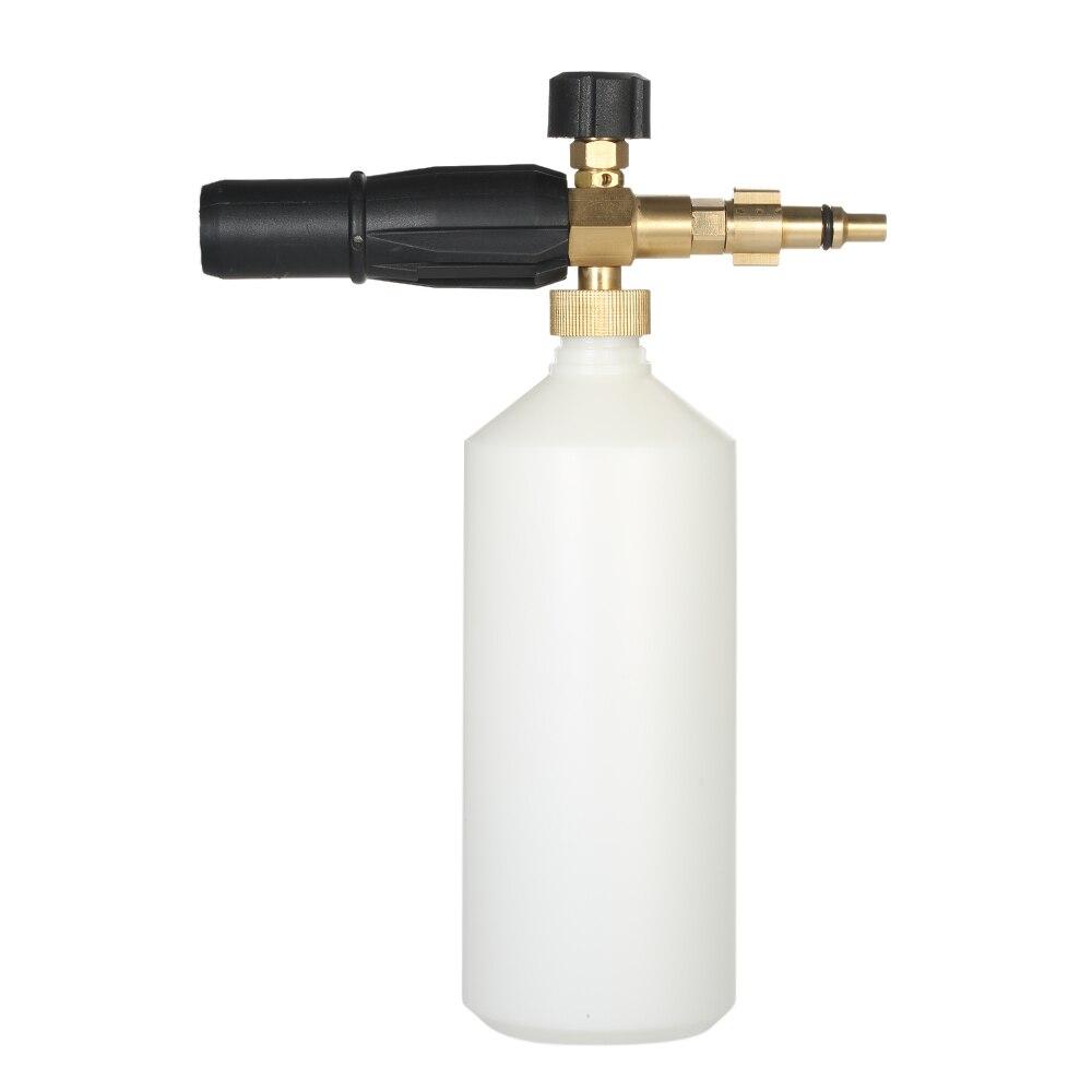 Adjustable Foam Lance 1L Bottle Snow Foam Nozzle Injector Soap Foamer Generator for Lavor Pressure Car Washer High Pressure