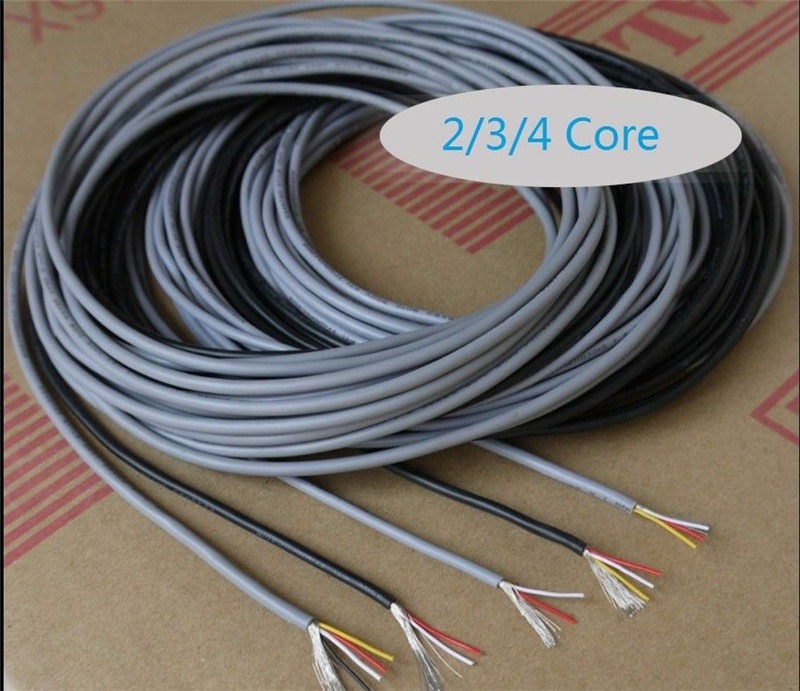 20M X MARINE TINNED 7-CORE WIRE WHITE SHEATHED ELECTRICAL TRAILER WIRING CABLE
