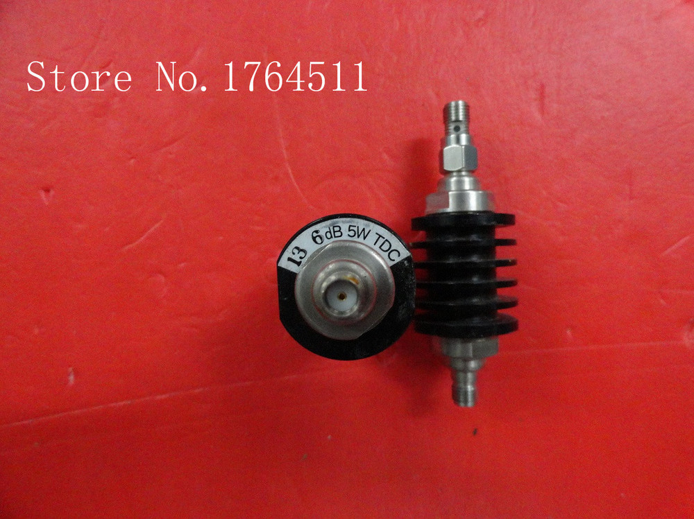 [BELLA] TDC 13 6dB DC-8GHZ Coaxial Fixed Attenuator 5W  --3PCS/LOT
