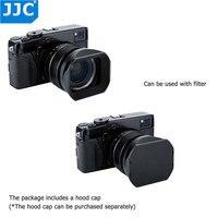 JJC 62mm Thread Size Black Square Camera Lens Hood Replaces Fujifilm LH XF23 For FUJINON LENS