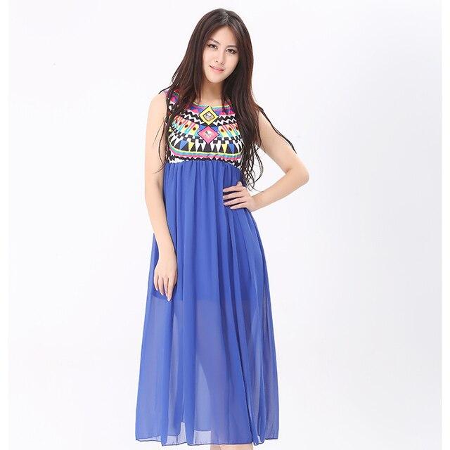 Long chiffon dresses indian