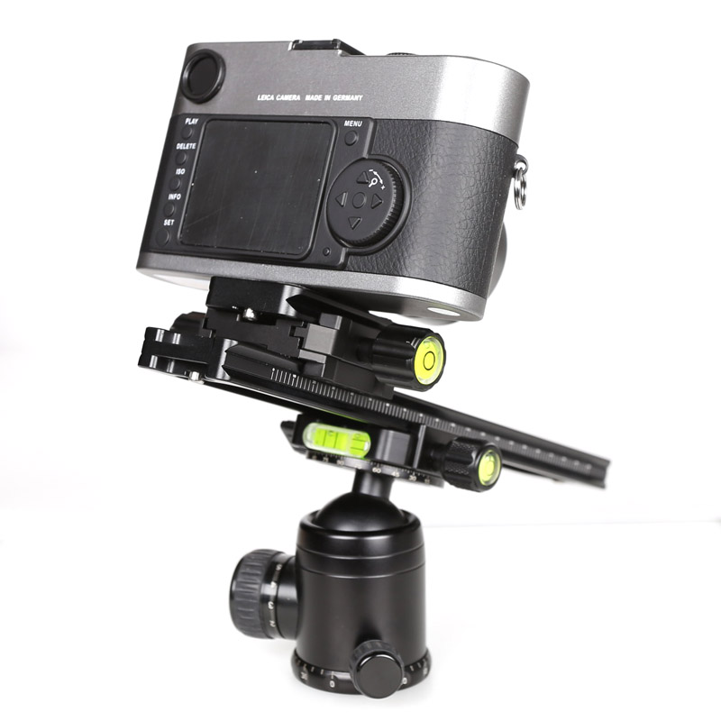 Image 5 - XILETU LCB 24B Track Dolly Slider Focusing Focus Rail Slider & Clamp and QR Plate Meet Arca Swiss For DSLR Camera Canon-in Tripod Heads from Consumer Electronics