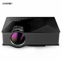 XUANERMEI UC46 MINI Proyector LED Portátil Para Juegos de Video TV Película de Cine En casa proyector Soporte HDMI VGA AV SD Envío gratis