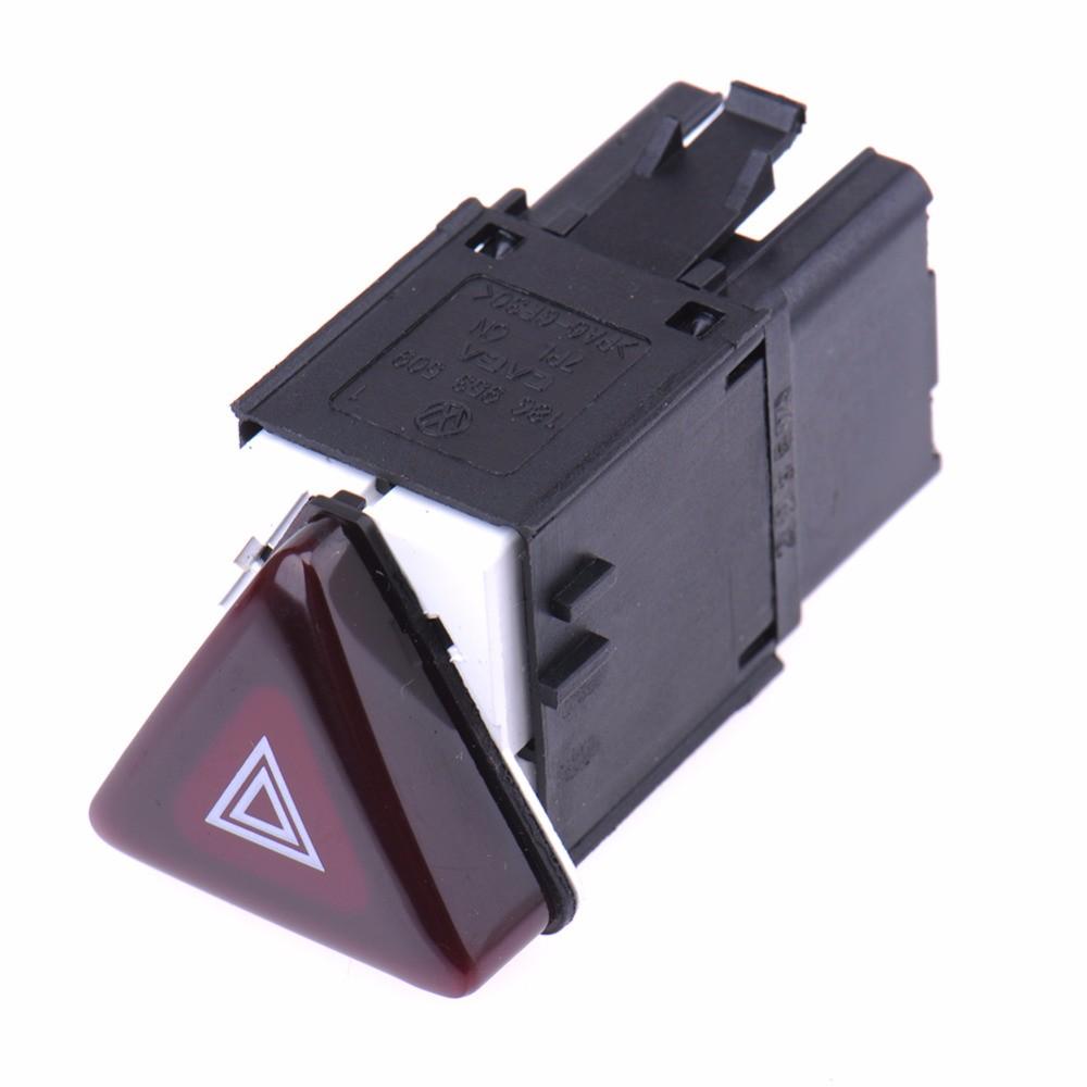 Car-Accessories-Warning-Flash-Switch-Button-For-VW-Jetta-Golf-MK5-GTI-Rabbit-18G-953-509