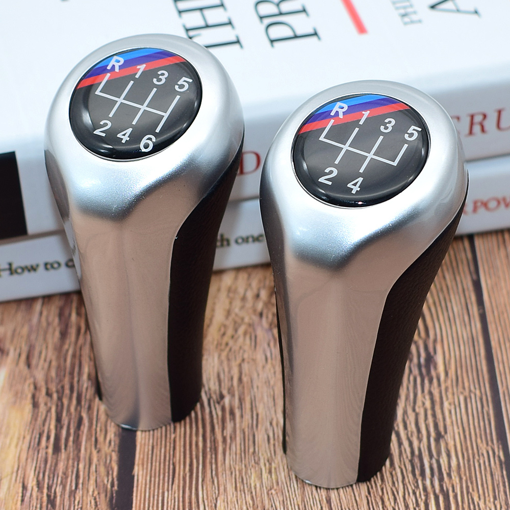 6 Speed 5 Speed MT Car Gear Shift Knob Auto Shifter Knob Head For BMW E34 E39 M5 M3 M6 E36 E46 E21 E30 E36 E46 E28 E53 E60 E90 in Gear Shift Knob from Automobiles Motorcycles