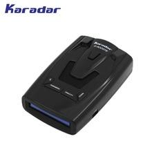 Karadar OLED Автомобильный анти GPS радар-детектор G-900STR Русский Голос предварительно GPS данных для Беларусь, Украина, Казахстан, киргизия