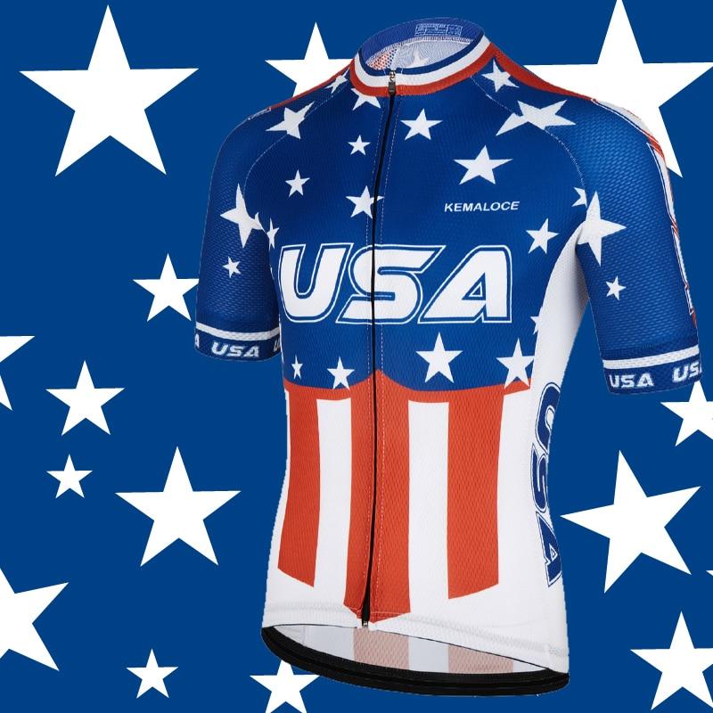 USA Navy International Men Cycling Jersey New American Sport Dirt Outdoor  Bike Cycling Shirt Short Sleeve Pro Team Bicycle Shirt 9a1f3e340