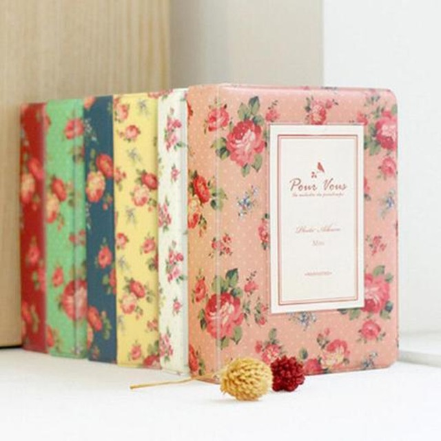 Blooming Flower Pattern Cover Styles 64 Pockets Photo