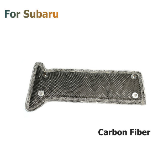 Turbo Blanket Thermal Heat Shield Cover Turbocharger Jacket For  WRX STI 2002 2019