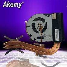 Akemy Новый 13NB01X1AM0101-147E для ASUS X750J X750JN X750JB heatwith с вентилятором cpu охлаждающий вентилятор Радиатор кулер