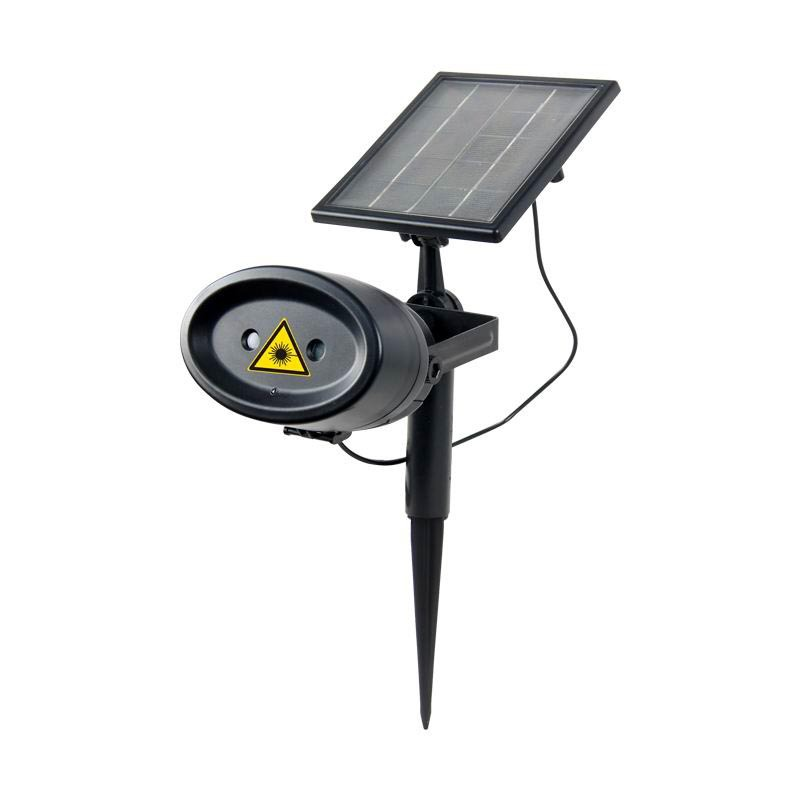 Colorful LED Solar Power Battery Laser Lawn Wall Spotlight Outdoor Garden Waterproof Lamp Energy Saving Decorative lighting 8led outdoor waterproof solar energy spotlight led projection lamp solar outdoor spotlight wall lamp lawn garden lamp
