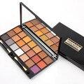 Chegada nova Miss Rose Shimmer Pigmento Compõem 21 Cores Da Paleta Da Sombra de Maquiagem Profissional Sombra de Olho Cosméticos Com Escova 2