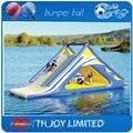 7*3m adult water slide, inflatable water slide,giant inflatable floating water slide