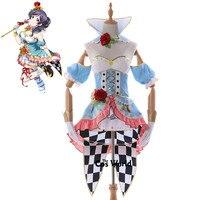 Любовь в прямом эфире Школа Idol Проекта Нозоми Тодзио невероятный платье майка форма наряд аниме Костюмы для косплея