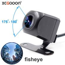 XCGaoon Metal CCD 180 degree Fisheye 4 Layers Glass Lens Car Camera Rear View Wide Angle Backup Camera Night Vision Waterproof(China)