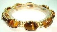 Hot sale new Style >>>>>Beautiful Tiger Eye Beads Bracelet 7.5
