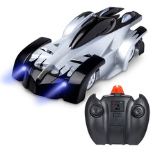 360° Rotating Three-Colored RC Car with LED Lights for Kids