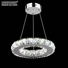 Светодиодный хрустальный подвесной светильник для прохода крыльца Прихожая лампа хрустальное кольцо люстры подвесной светильник ing гарантия