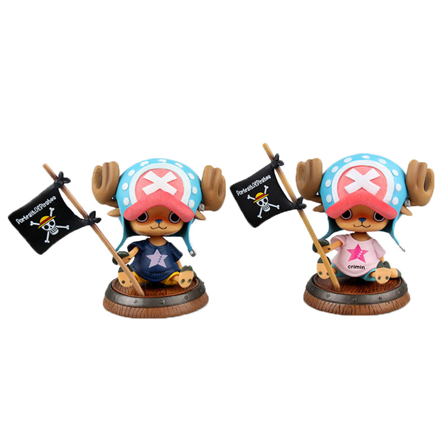 Chanycore Anime ONE PIECE 10CM Crimin Ver POP Tony Tony Chopper 1PCS/SET Action Figures PVC onepiece toys doll model