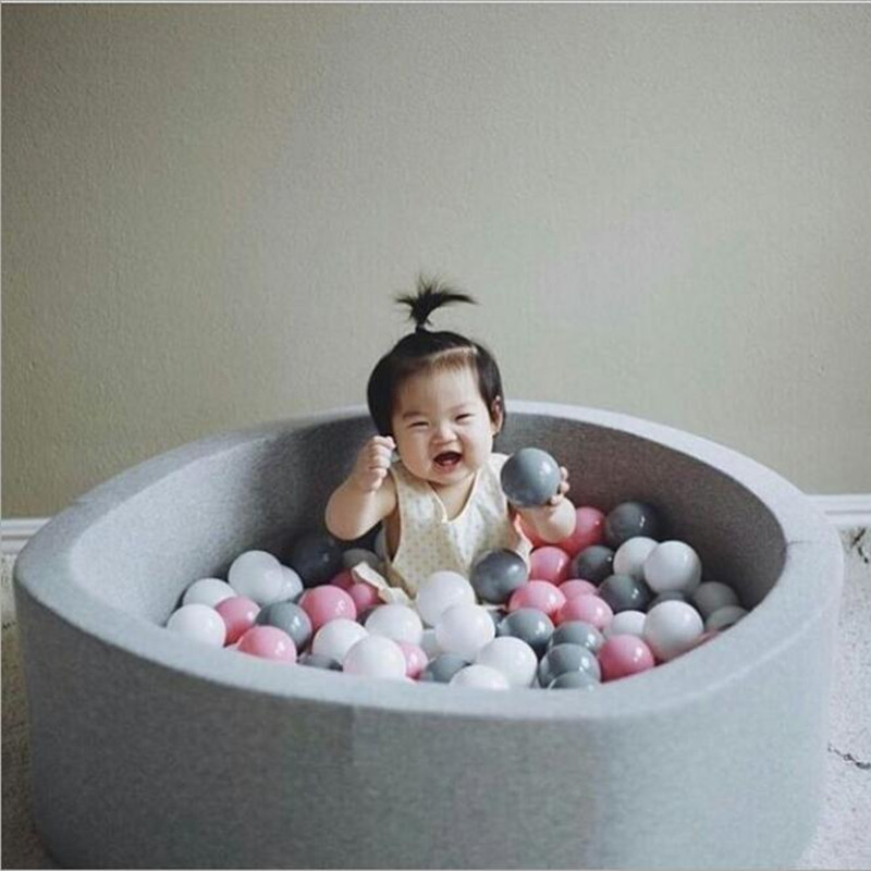 Renew Baby Playpen Kids Fence Playpen Soft Toys for Children Baby Safety Fence Pool Baby Game Baby Crawling Safety Guardrail 14 2 pcs baby playpen fence fencing for children child game crawling security toddler ball pool toy playpen