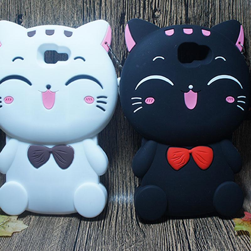 Cute 3D Cartoon Pet Cat Phone Cover