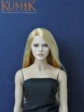 1/6 KUMIK Female Head Sculpt CG CY KM13-1 Model Toy For 12″ Action Figure Accessory