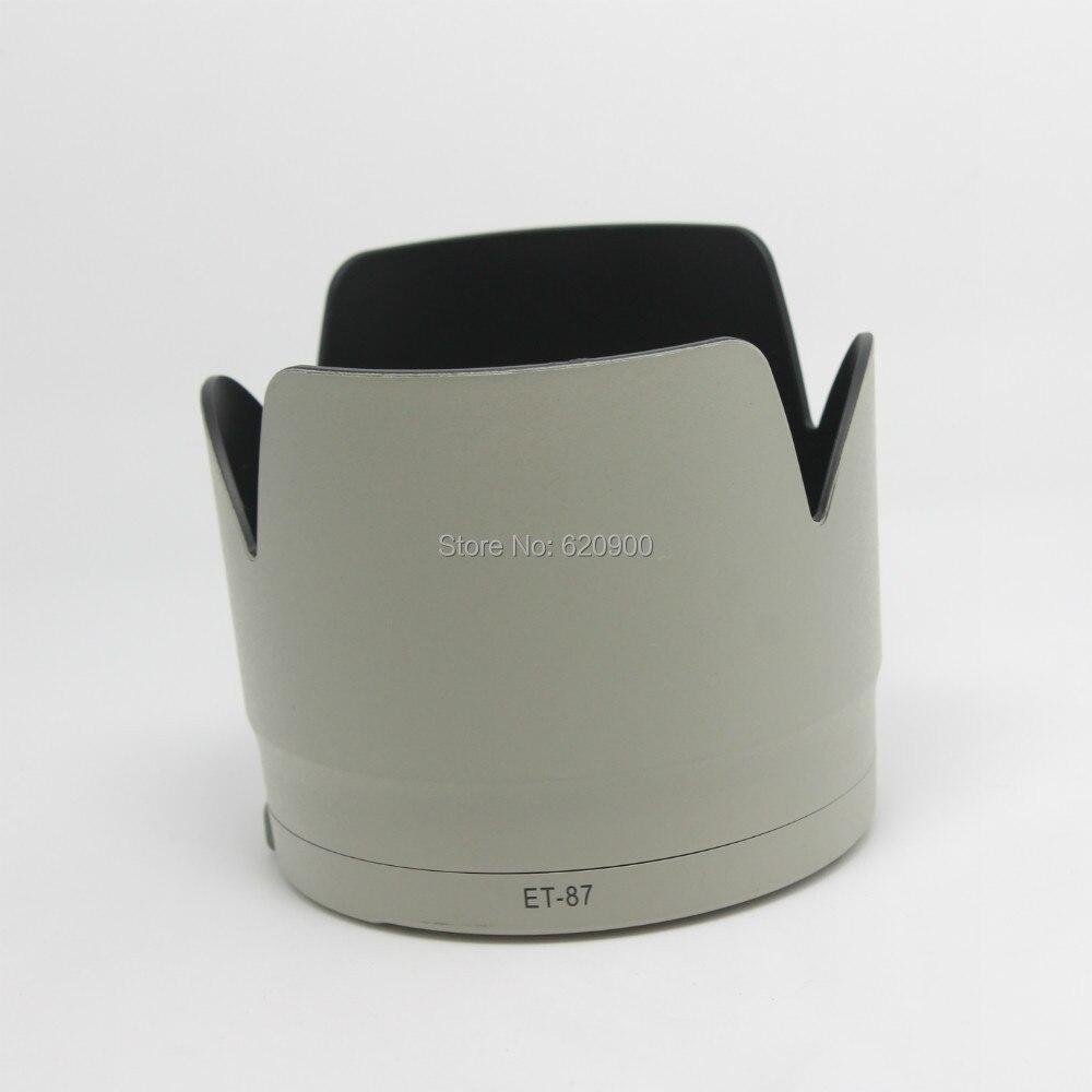 Оптовая белый ET-87 ET87 Бленда Объектива Для Canon Ef 70-200 Mm F/2.8L IS II USM Объектив бесплатная доставка
