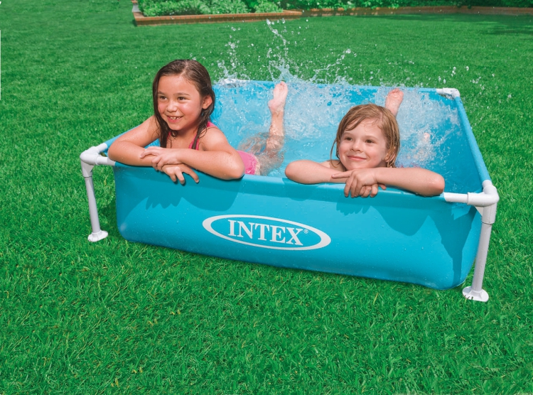 Intex Tube Rack Swimming Pool 3 Colorsinflatable Poolsmall Inflatable Poolkids Swimmingpoolbaby Pool12212230CM In From