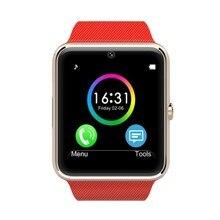 Heißer verkauf! Gt08 sport bluetooth smart gesundheit uhr für apple getriebe smartwatch mit sim einbauschlitz tragbares gerät reloj inteligent