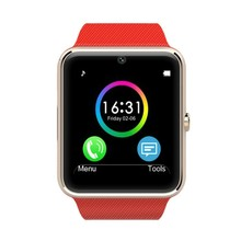 Hot sale Gt08 sport bluetooth smart health watch for apple gear smartwatch with sim card slot