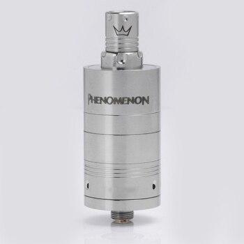 цена на Phenomenon ZEST V2 Style RTA Rebuildable Tank Atomizer 22mm Diameter Stainless Steel Adjustable Airflow Rebuildable Atomizer