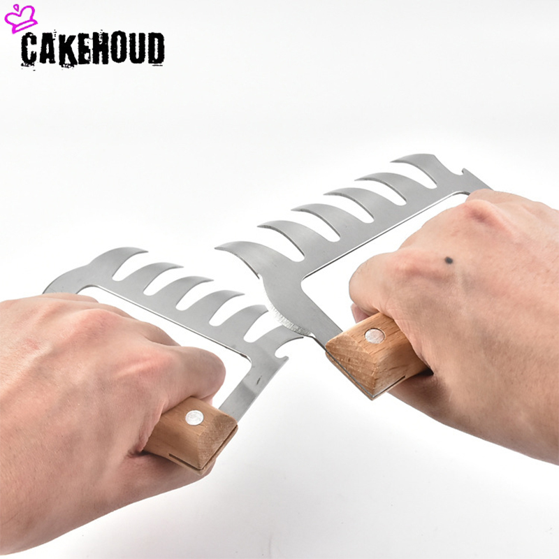 CAKEHOUD Multi function Bear Claws for Decomposition of Meat Useful for Transporting and Fixing Meat Made of Steel 1