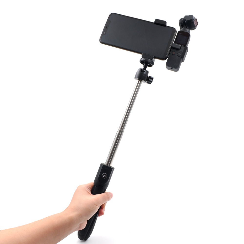 3 in 1 Multi-function selfie stick  for DJI OSMO Pocket (tripod + selfie stick + mobile phone base) pocket tripod pro
