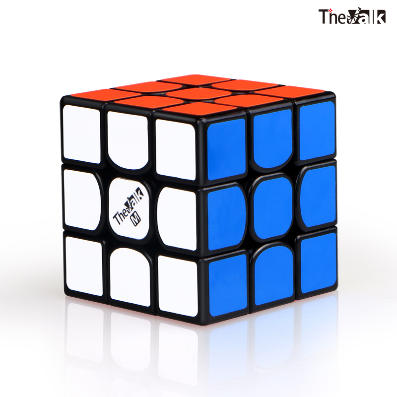 New QiYi Valk3 M 3x3x3 Magnetic Magic Speed Cube Valk 3M Stickerless Professional Magnets Puzzle Cubes 3 Educational Toys
