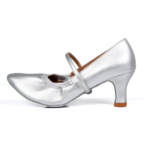 New arrival Brand Modern Dance Shoes Women Girls Dancing Shoes High Heeled Ballroom Latin Dance Shoes For Women 5CM and 7CM Heel Lahore