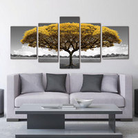 Art wall picture Poster Canvas Painting tree abstract ptints and posters Beautiful scenery decor prints on canvas painting