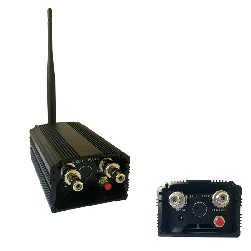Long Distance 2W 5000m FPV AV Transmmitter Receiver 1.2Ghz Wireless Video Tx and Rx for CCTV Surveillance System