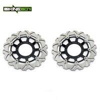 BIKINGBOY Front Brake Discs Rotors Disks For Honda CB 600 Hornet 04 13 CB600 ABS 07 13 08 09 10 CBR 600 F / ABS 2011 2012 2013