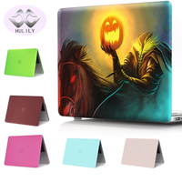 HULILY Matte Case For Macbook Pro 13 15 12 Retina Air 11 13 Hard Cover Protective