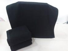 2017 New Arrivals Luxury Men Face Towel toalha Super Soft 100% Cotton Black Brand Home Hotel Terry Bathroom