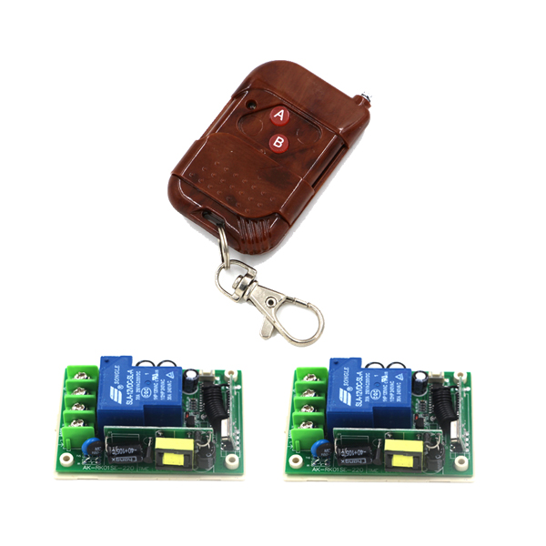 AC 85V-250V 30A 1CH wireless remote control switch wooden transmitter high power receiver for electronic door window SKU: 5488 220v 30a single channel remote control switch remote receiver for door window 1 transmitter control 8 switchs 4354